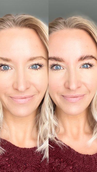 Ashleigh Renard DIY eyebrow lamination eyebrows