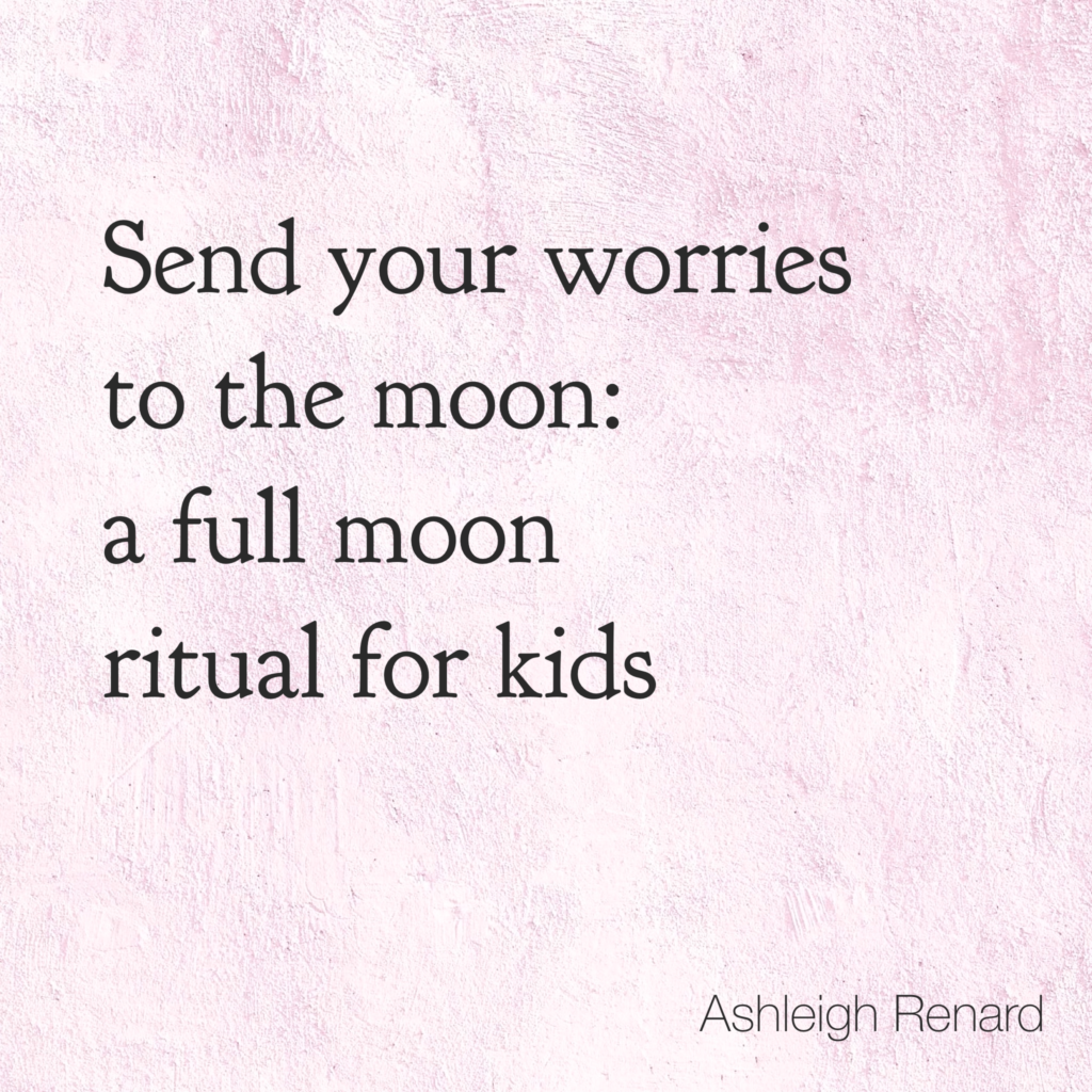 Worries to the Moon