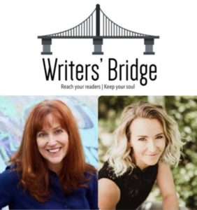 Writers' Bridge Allison K Williams Ashleigh Renard platform zoom call